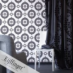 Eijffinger wallpaper, Black & White Collection.  On Sale was $498.00 now $399.00 per roll.  Murrays Interiors / Murrays Interiors