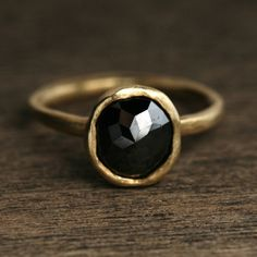 #black ring #fashion #accessory
