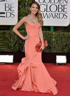 The top 10 red carpet dresses of 2013--> #8. Jessica Alba