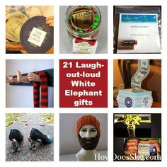 21 Laugh-Out-Loud White Elephant Gift ideas