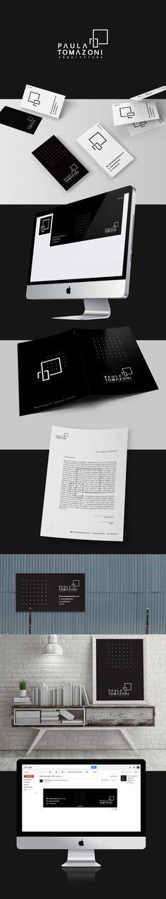 Marca e Identidade Visual Escritório de Arquitetura