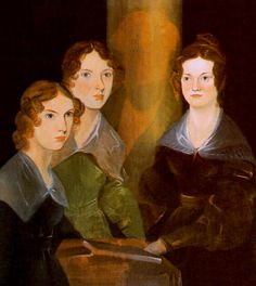 """The Bronte Sisters - Charlotte, Emily and Ann - Authors of such great novels as """"Jane Eyre"""", """"Wuthering Heights"""" and """"The Tenant of Wildfell Hall"""" Emily Bronte, Charlotte Bronte, Jane Eyre, Mia Wasikowska, Lewis Carroll, Literary Names, Literary Heroes, Bronte Parsonage, Bronte Sisters"""