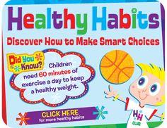 Healthy habits Bulletin Board by CTP!