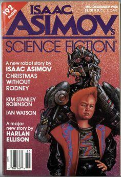 Isaac Asimov's Science Fiction Magazine - Mid-December 1988