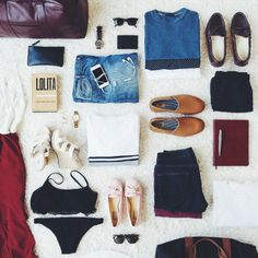 When you're jetsetting to your next summer adventure the last thing you need is to be weighed down by luggage. Check out our tips for packing light while staying comfortably stylish. j.mp/1nRFFsa