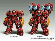 Anti-Hulk Ultra Quad Unibeam Unit