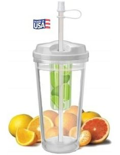 Be Healthy NOW! Naturally Infuse Your Water with Infuser Water Bottles | Quality Drinkware Products and more