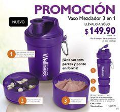 Vaso mezclador 3 en 1 SOMO5 Empresarias en Oriflame FB