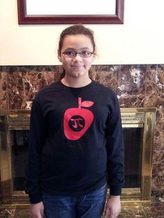 Homemade Pi Day shirt Pi Day Shirts, Pi Shirt, Die Cutting, Cool Kids, Homemade, Gift Ideas, Sweatshirts, Projects, Fun