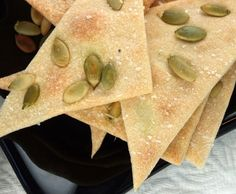 Barefoot Contessa - Recipes - Stilton & Walnut Crackers