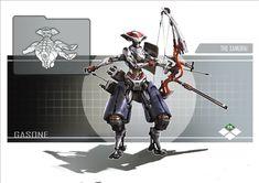 The Mechanical samurai, Shengyi Sun on ArtStation at https://www.artstation.com/artwork/the-mechanical-samurai-af7e26ed-9569-4149-9ca7-50f97c14b53d