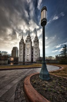 """Streets of Heaven"" Salt Lake LDS Temple. One of the coolest pictures I've seen of this temple. Utah Temples, Lds Temples, Lds Temple Pictures, Lds Pictures, Salt Lake Temple, Mormon Temples, Templer, Lds Mormon, Church Quotes"