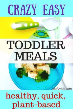 Quick Healthy Toddle