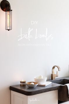 Vero collection faucet by @deltafaucetcan... How to make bath bombs with essential oils http://www.lynneknowlton.com/bath-bombs/