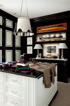 amazing preppy chic closet.