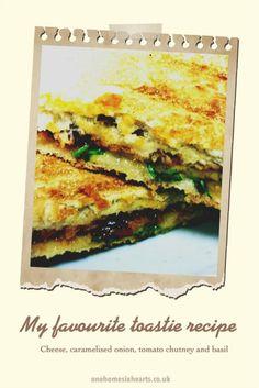 My favourite Cheese Toastie recipe