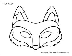 Coloriage Masque Animaux 4 on with HD Resolution pixels is Best Fresh Home Design Ideas and Interior Decorating Architecture of The Years 2019 Animal Mask Templates, Printable Animal Masks, Unicorn Printables, Fox Coloring Page, Coloring Pages, Wolf Maske, Fox Crafts, Felt Mask, Diy Mask