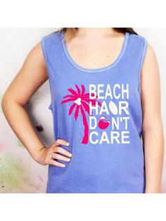 Bring the coast to your customers with our selection of wholesale beach and sea life accessories. Beach Weather, Beach Accessories, Beach Hair, Comfort Colors, Spring Break, Don't Care, Preppy, Tank Man, Tank Tops