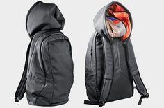 Hussein Chalayan/Puma collaboration: hoody backpack