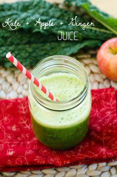 Kale, Apple & Ginger Juice