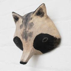 Image of RACCOON DOG - Paper Mâché Head