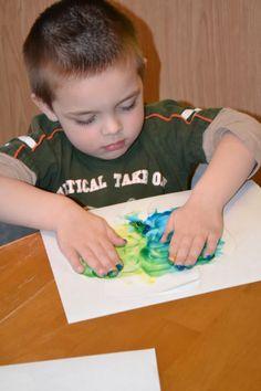 making green... A Shamrock Craft and Poem