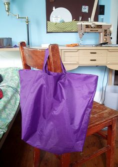 finished bag by Everyday Crafty Goodness, via Flickr