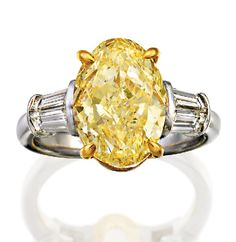 FANCY INTENSE YELLOW DIAMOND RING, Sotheby's Australia Auctions, Calender, Australian Auctioneers