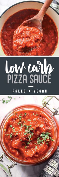 Zesty, bright, versatile, delicious on EVERYTHING—this low carb pizza sauce is about to become your new favorite home-cooked staple!