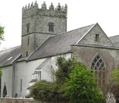 Old Leighlin Cathedral (Thirteenth C.), County Carlow