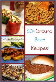 Over 50 Hamburger Meat Recipes