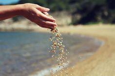 #sand #hand