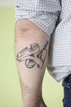 Serious Crafter Tattoo