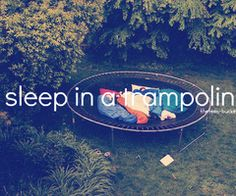 summer Bucket List (sleep ON* a trampoline) Best Friend Bucket List, Bucket List Life, Summer Bucket Lists, Teen Bucket List, Teenage Bucket Lists, Life List, Paar Bucket Listen, 365 Jar, Bucket List Before I Die