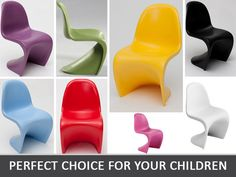 Let us present this interesting form of the chair - Balance Junior. Presented product is made of high quality plastic, resistant to all children's fantasies. Available in 8 trendy colours, suitable both for boys and girls.   eBay!