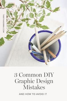3 Common DIY Graphic Design Mistakes and how to Avoid Them Having the skill to design your own graphics, without always turning to a designer, can be really handy. There are a few mistakes I see these people make though. Sometimes they are just a few simple tweaks away from a really well designed graphic. Create A Brand Logo, Creating A Brand, Creative Business, Business Tips, Blog Design, Fashion Branding, Visual Identity, Design Your Own, Brand You