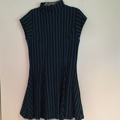 Beset Johnson dress Striped short sleeve dress. Worn once,great condition Betsey Johnson Dresses Mini