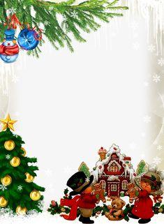 Christmas Border, Christmas Frames, Noel Christmas, Christmas Background, Winter Christmas, Vintage Christmas, Christmas Cards, Happy Birthday Frame, Birthday Frames