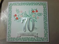 Stampin up numbers of years stamp set
