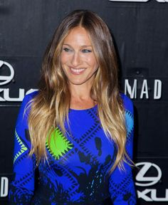 sarah jessica parker blue dress - Szukaj w Google