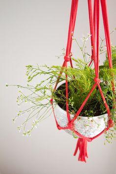 Idée de suspension de pot de fleurs