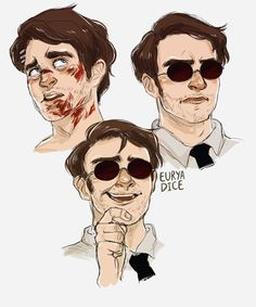 "euryadice: "" bunch of best damn avocados law nerds "" Daredevil Punisher, Daredevil Artwork, Daredevil Matt Murdock, Marvel Fan Art, Fanart, Marvel Cinematic Universe, Avengers, Defenders, Marvel Series"