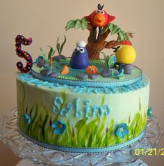 Peep and the Big Wide World Cake by meriem bens, via Flickr  (My kids LOVED this show. I have to admit, it was very, very cute!)