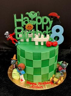 Boy Cakes, Cakes For Boys, Plants Vs Zombies, Birthday Cake, Desserts, Food, Design, Tailgate Desserts, Birthday Cakes