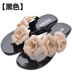 6a15d8c3474eea 2016 New Summer Hot Women Sandals With Beautiful Camellia Flower Sweet Flip  Flops