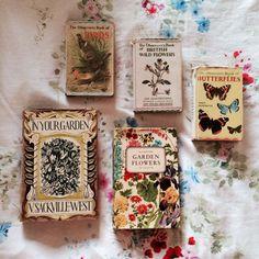 "cenere-nera: "" (via dottie angel: a 'little bookshelf all of my own'…) "" Good Books, Books To Read, My Books, British Wild Flowers, Vie Simple, Dottie Angel, Illustration, Vintage Makeup, Book Aesthetic"