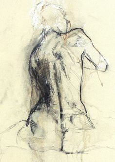 Nude Life Drawing by Ute Rathmann, via Behance
