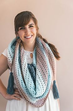 Crochet Wishing Well Wrap - Sewrella