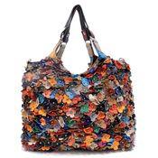 Wholesale Flower Print Handbags - Fashion World