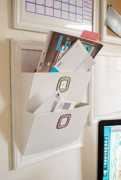 Ana White   Build a PB Inspired Daily System - Letter Bin   Free and Easy DIY Project and Furniture Plans